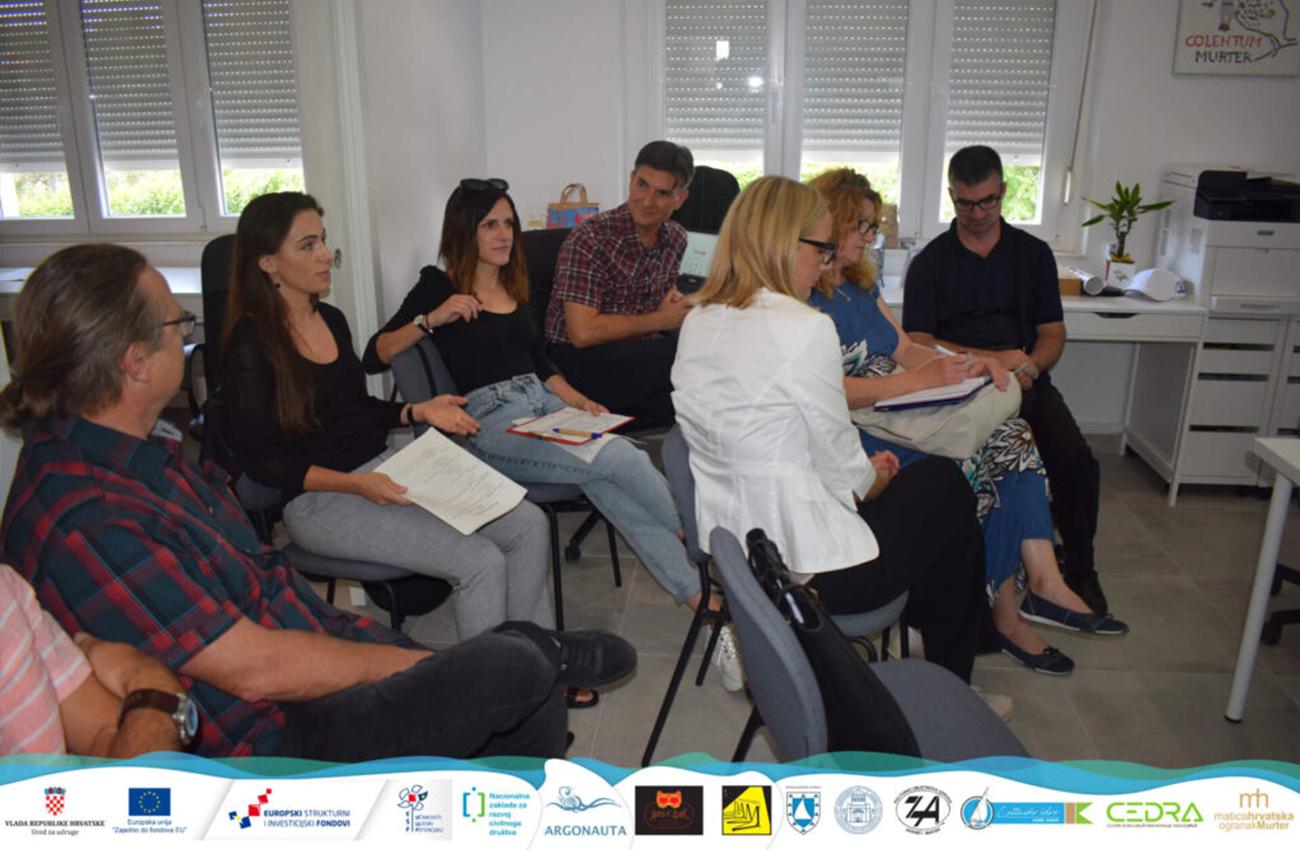 Prvi sastanak provedbenog tima projekta JEDRO